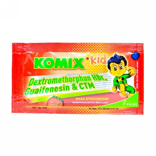 KOMIX KID STRAWBERRY SACHET