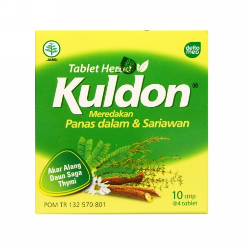 KULDON STRIP 4 TABLET