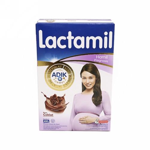 LACTAMIL PREGNASIS SUSU IBU HAMIL RASA CHOCOLATE 400 GRAM BOX