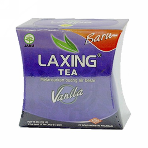 LAXING TEA VANILA BOX