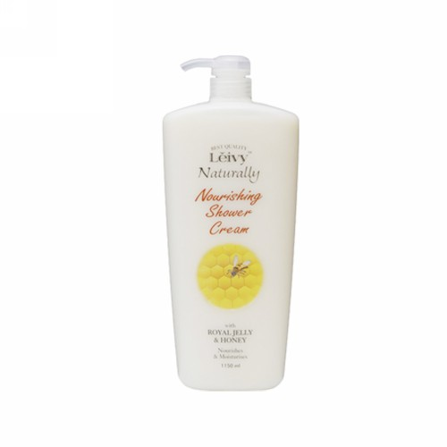LEIVY NATURALLY NOURISHING SHOWER CREAM ROYAL JELLY PUMP 1150 ML