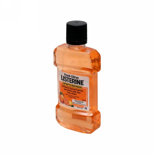 LISTERINE FRESH CITRUS 250 ML BOTOL
