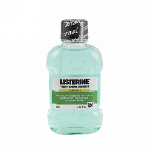 LISTERINE TEETH & GUM DEFENCE 80 ML BOTOL