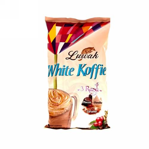 LUWAK WHITE KOFFIE 3 RASA 10X20 GRAM