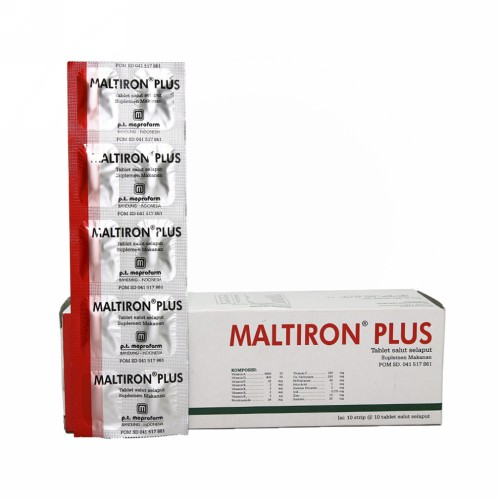 MALTIRON PLUS STRIP 10 TABLET