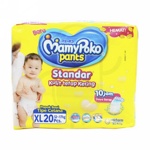 MAMYPOKO PANTS STANDAR XL PACK 20 PCS