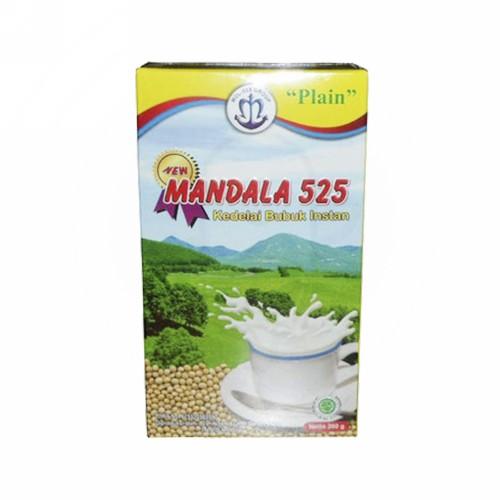 MANDALA 525 SUSU RASA PLAIN 200 GRAM DUS