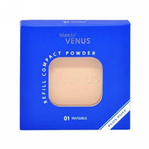 MARCKS VENUS COMPACT POWDER 01 INVISIBLE 12 GRAM KOTAK