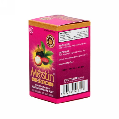 MASTIN BOX 30 KAPSUL