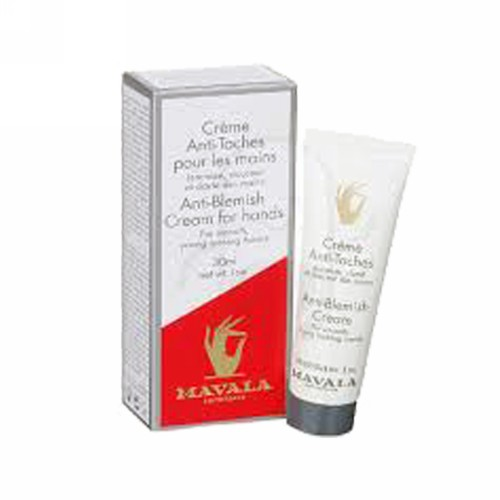 MAVALA CREAM HAND ANTI-BLEMISH 30 ML BOTOL