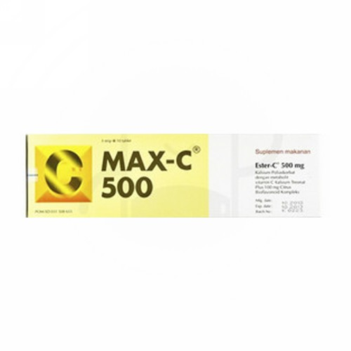 MAX-C 500 STRIP 10 KAPSUL