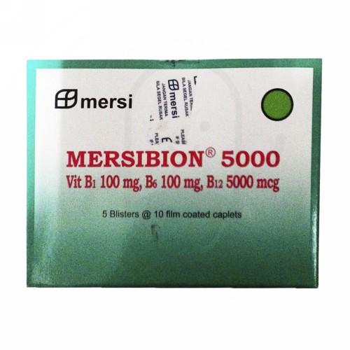 MERSIBION 5000 MG BOX 50 KAPLET
