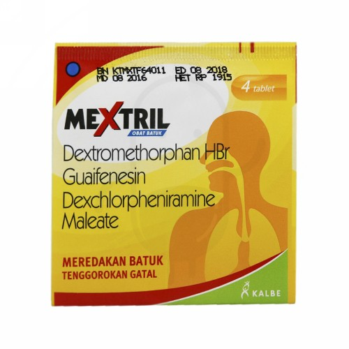 MEXTRIL STRIP 4 TABLET