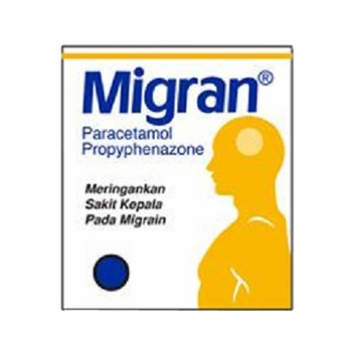 MIGRAN STRIP 4 TABLET
