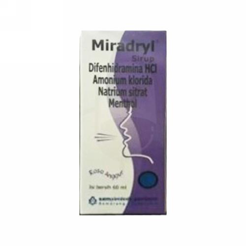 MIRADRYL SIRUP 60 ML