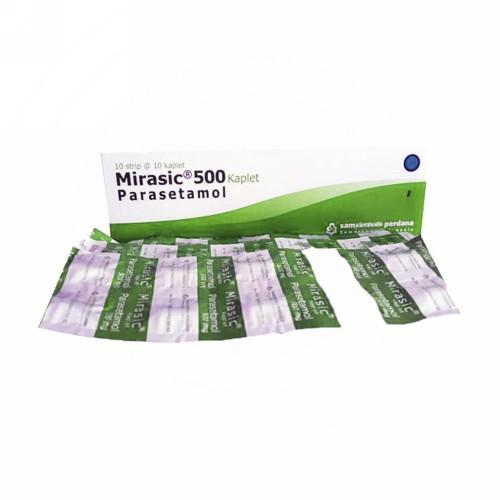 MIRASIC 500 MG STRIP 10 KAPLET