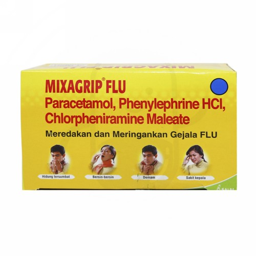 MIXAGRIP BOX 100 KAPSUL