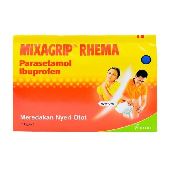 MIXAGRIP RHEUMA STRIP 4 KAPLET