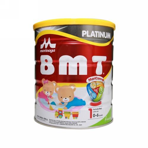 MORINAGA BMT PLATINUM 1 SUSU PERTUMBUHAN USIA 0-6 BULAN 800 GRAM KALENG