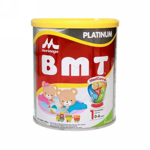 MORINAGA BMT PLATINUM 1 USIA 0-6 BULAN 400 GRAM KALENG