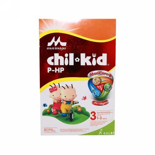 MORINAGA CHIL KID P-HP SUSU PERTUMBUHAN USIA 1-3 TAHUN 400 GRAM DUS