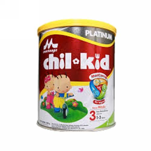 MORINAGA CHIL KID PLATINUM 3 SUSU PERTUMBUHAN RASA MADU 400 GRAM KALENG