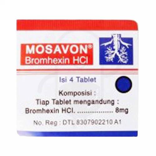 MOSAVON STRIP 4 TABLET
