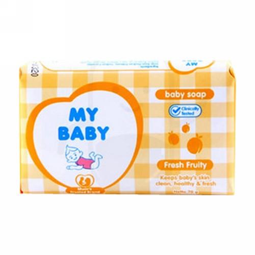 MY BABY SOAP FRESH FRUITY 70 GRAM DUS