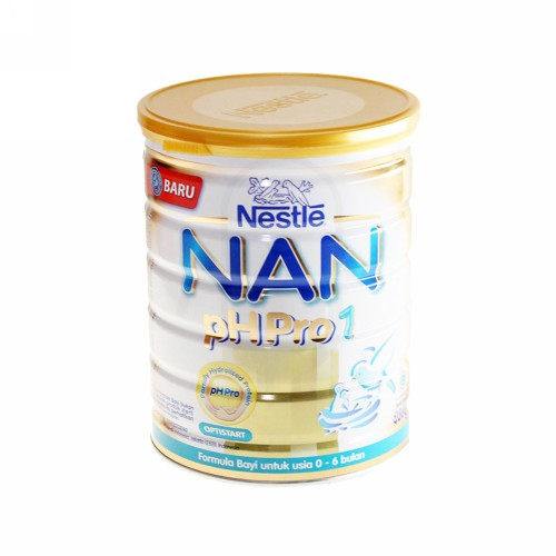 NAN ph PRO 1 SUSU FORMULA USIA 0-6 BULAN 800 GRAM KALENG