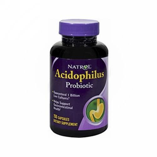 NATROL ACIDOPHILUS PROBIOTIC BOX 150 KAPSUL
