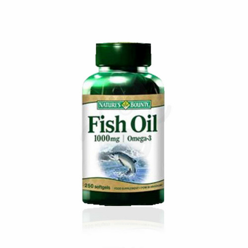NATURE'S BOUNTY FISH OIL 1000 MG BOX 250 KAPSUL