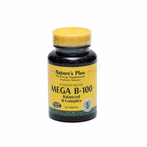 NATURE'S PLUS MEGA B-100 COMPLEX TABLET