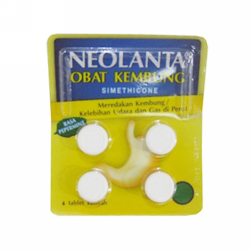 NEOLANTA OBAT KEMBUNG STRIP 4 TABLET
