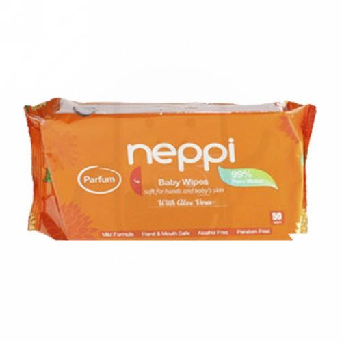 NEPPI BABY WIPES NON PARFUM 50 PCS
