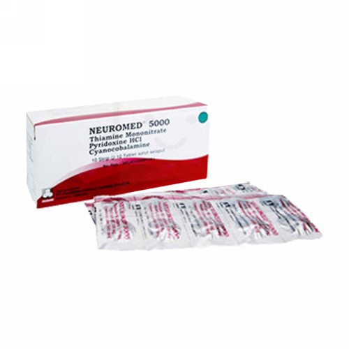 NEUROMED 5000 STRIP 10 TABLET
