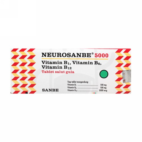 NEUROSANBE 5000 BOX 100 TABLET