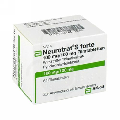 NEUROTRAT FORTE TABLET BOX