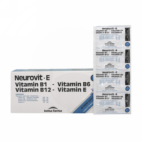 NEUROVIT E STRIP 10 TABLET
