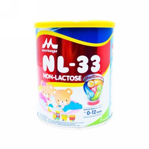 NL 33 SUSU FORMULA BAYI NON LACTOSE USIA 0-12 BULAN 350 GRAM BOX