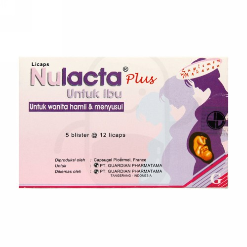 NULACTA PLUS BOX 60 KAPSUL