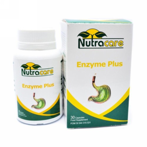 NUTRA CARE ENZYME PLUS BOX 30 KAPSUL