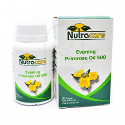 NUTRA CARE EVENING PRIMROSE OIL 500 BOX 30 KAPSUL