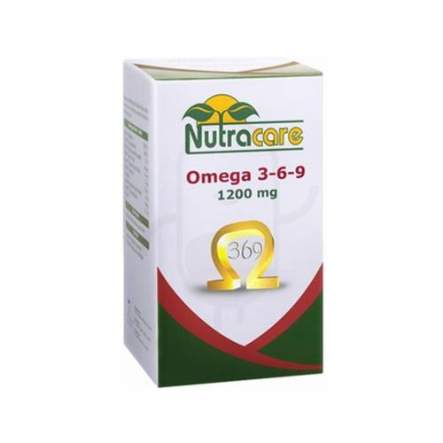 NUTRA CARE OMEGA 3-6-9 1200 MG BOX 30 KAPSUL