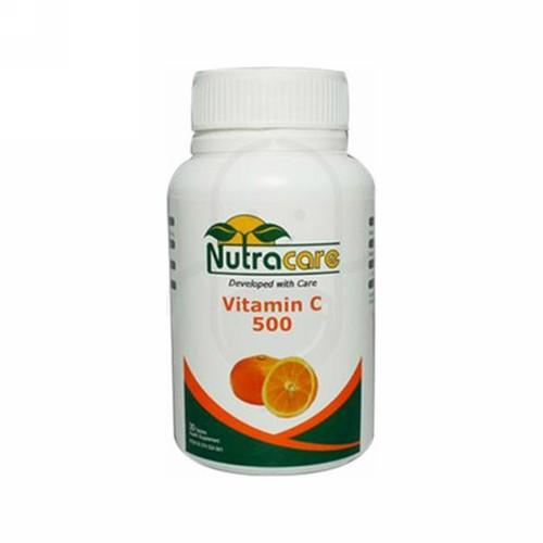 NUTRA CARE VITAMIN C 500 BOX 30 TABLET