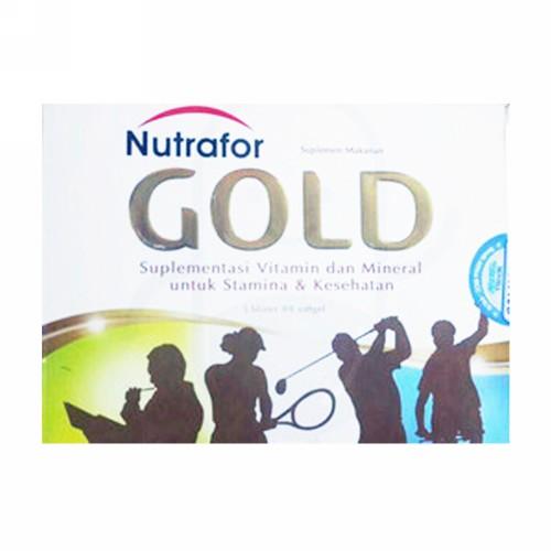 NUTRAFOR GOLD STRIP 10 KAPSUL