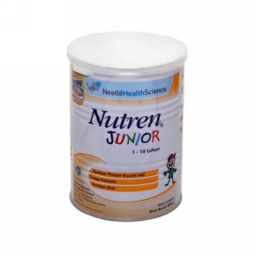 NUTREN JUNIOR SUSU BUBUK ANAK USIA 1-10 TAHUN 400 GRAM BOX