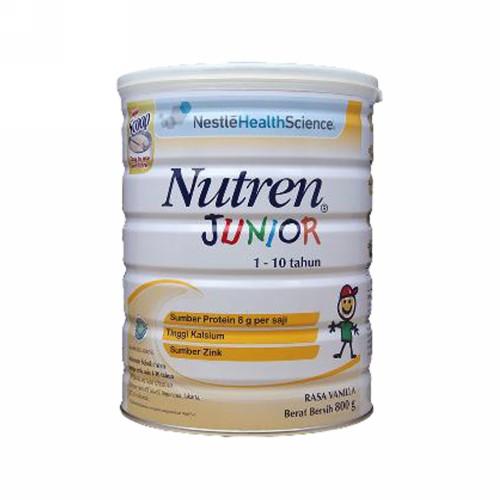 NUTREN JUNIOR SUSU BUBUK ANAK USIA 1-10 TAHUN 800 GRAM BOX