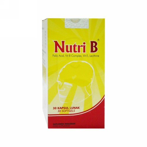 NUTRI-B BOTOL 30 KAPSUL
