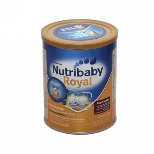 NUTRIBABY ROYAL 1 SUSU FORMULA BAYI USIA 0-6 BULAN 400 GRAM BOX