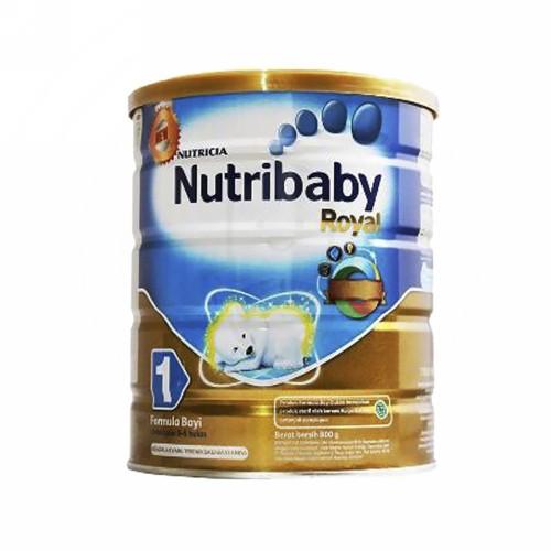 NUTRIBABY ROYAL 1 SUSU FORMULA BAYI USIA 0-6 BULAN 800 GRAM KALENG